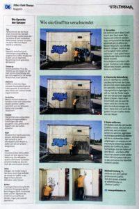 Fassadenreinigung - Artikel im Kölner Stadt-Anzeiger